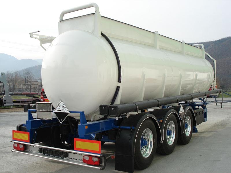 Su - Sıvı Gıda – Kimyasal Kullanım Amaçlı Cr-Nİ Paslanmaz Tank ve Taşıyıcı Dorse & Treyler
