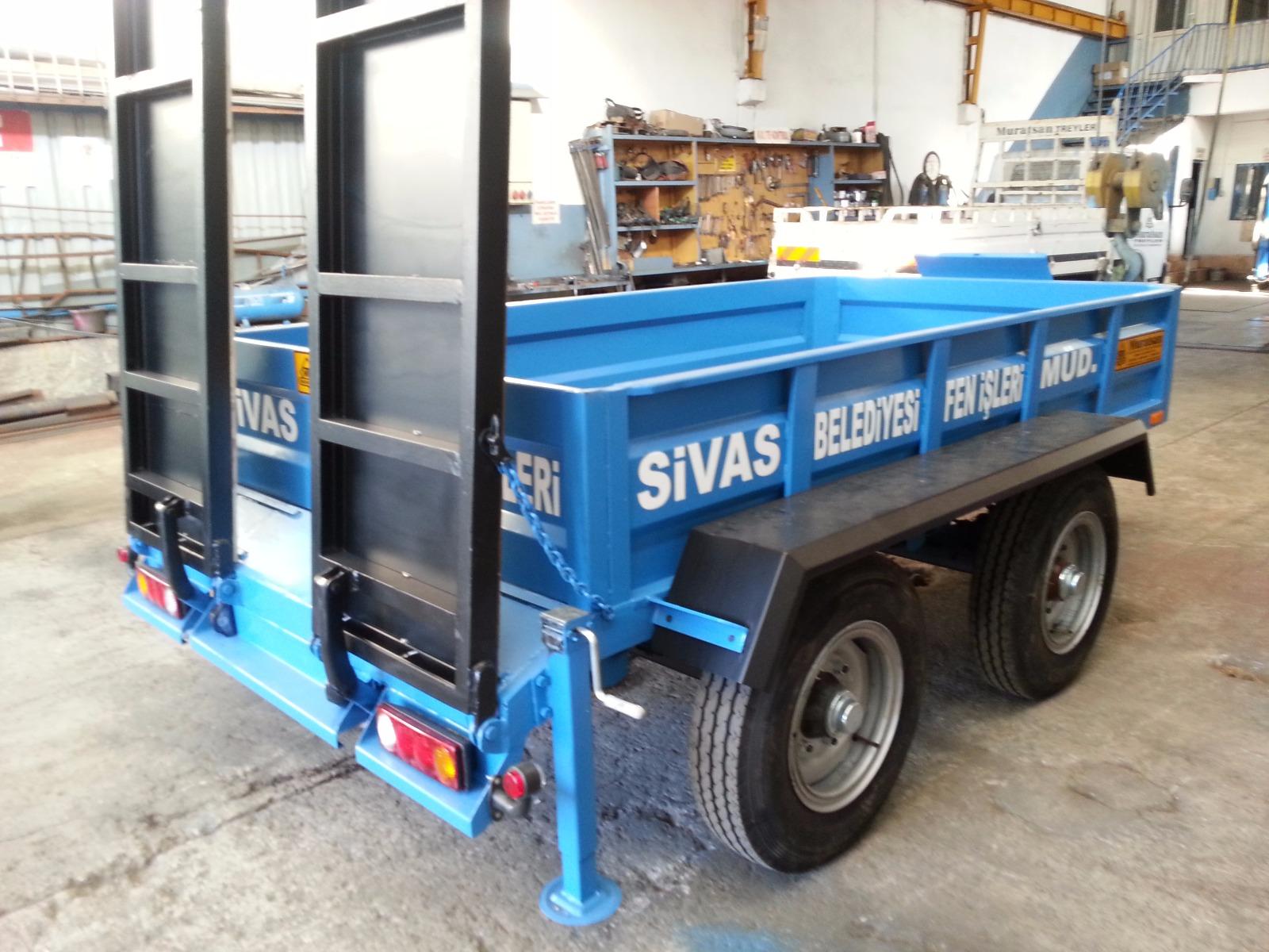 Silindir ve Forklift Taşıyıcı Römorklar