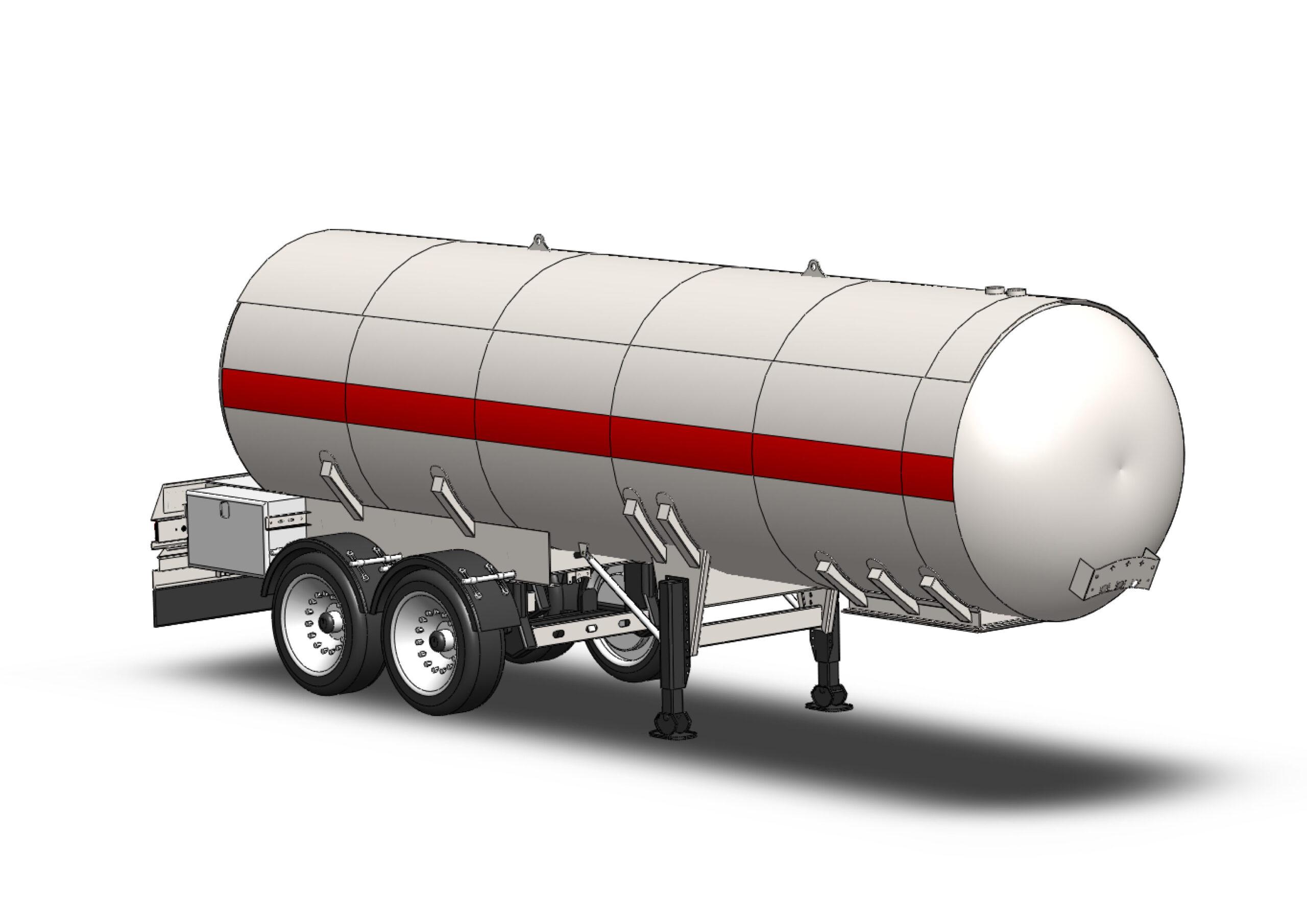 Basınçlı LPG Propan Tank